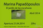 Inauguración escultural de Marina Papadópoulos