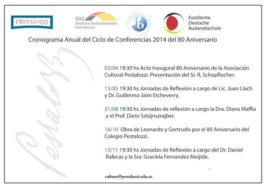 Jornada de reflexión Filosófica en el marco del Ciclo de conferencias del 80 Aniversario.