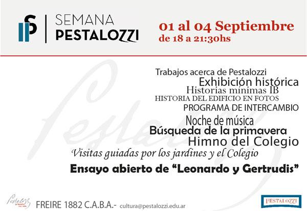 2da Semana Pestalozzi