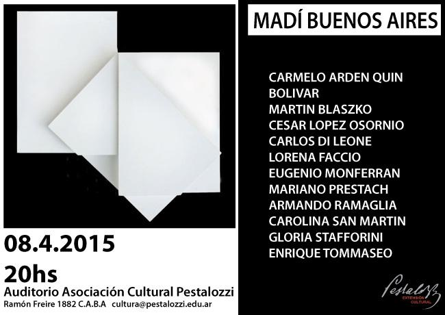 Inauguración de la muestra MADÍ - BUENOS AIRES