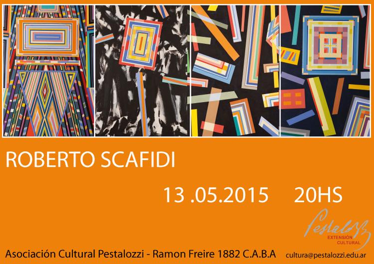 Inauguración de la muestra de Roberto Scafidi