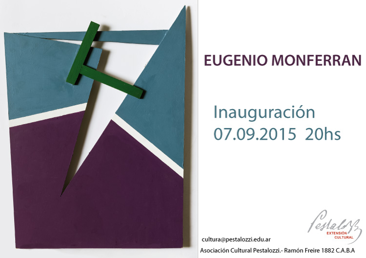 Inauguración de la muestra de Eugenio Monferran