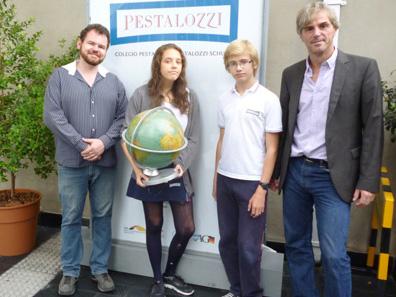 Alumnos del Colegio Pestalozzi participan en un concurso alemán de Geografía