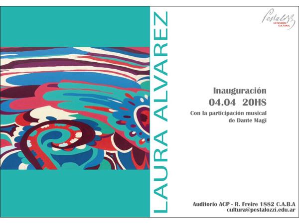 Exhibición de obras de Laura Álvarez