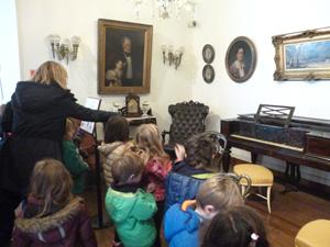 Las Salas de 5 visitaron el Museo Histórico de Buenos Aires