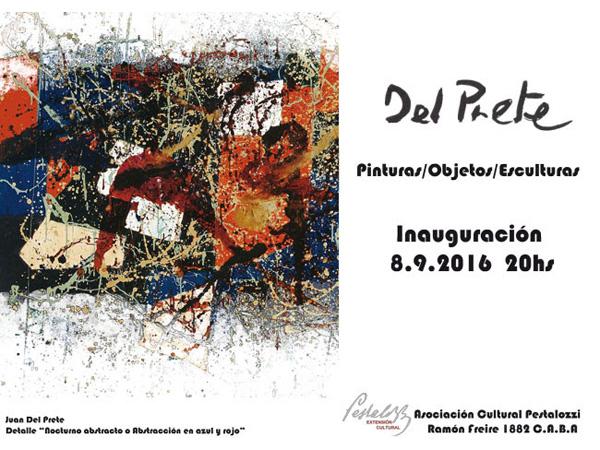 Juan del Prete – Pinturas, esculturas y objetos