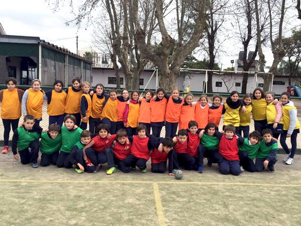Encuentro de minihandball