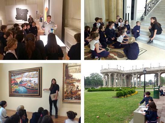 Tercer Grado visitó el Museo de Arte Tigre