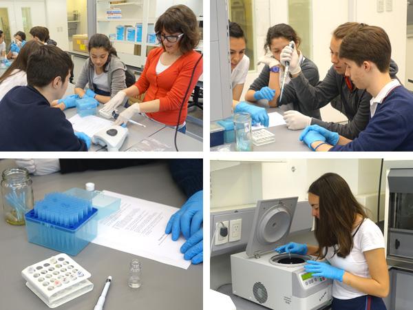 Excursión al IBioBA, Instituto Partner de la Sociedad Max-Planck en Buenos Aires