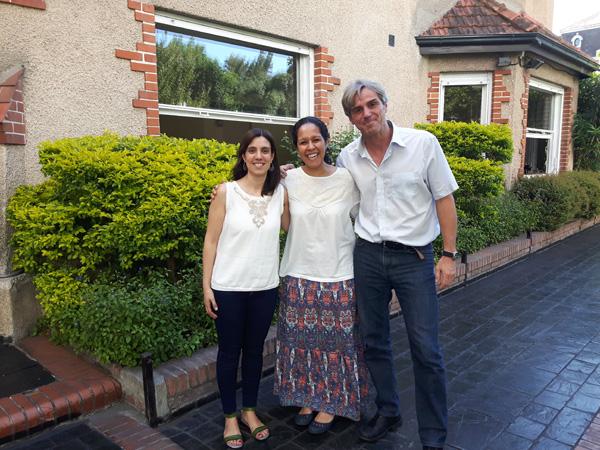 Intercambio de experiencias con el Colegio Humboldt de San Pablo