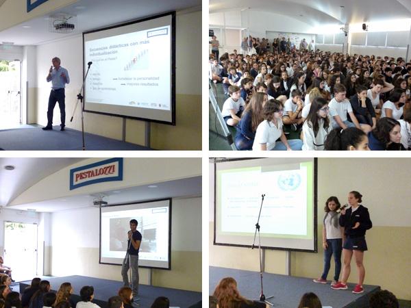 Presentación de los proyectos Jugend forscht y Model United Nations