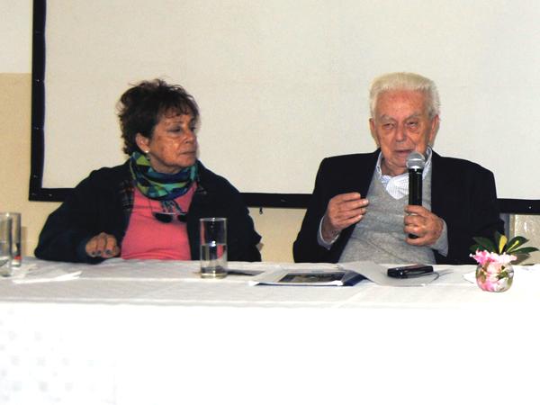 Un sobreviviente del Holocausto visitó el Colegio Pestalozzi
