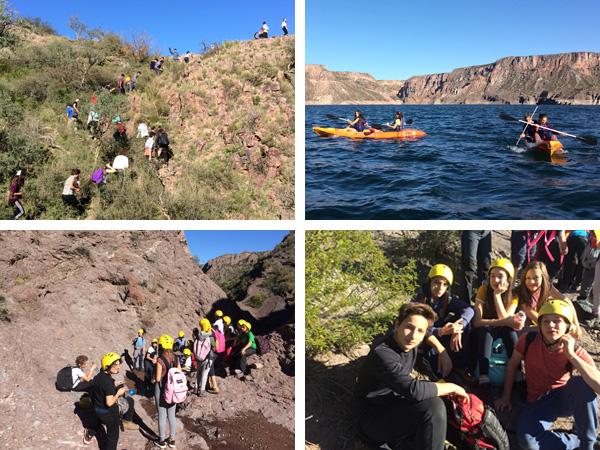 Campamento de tercer año en San Rafael, Mendoza