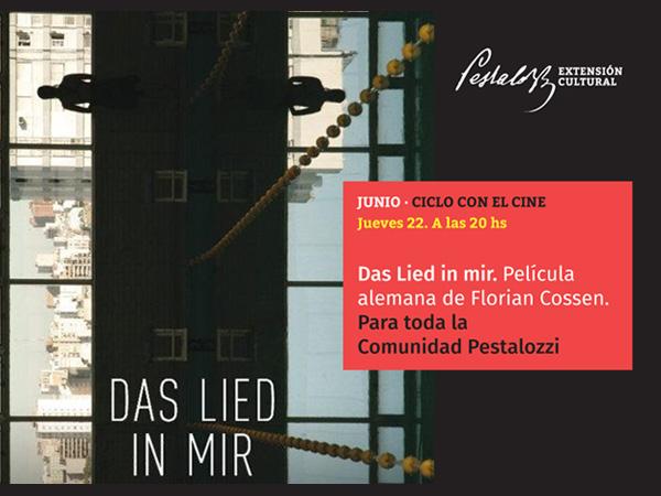 Cine alemán en el Colegio Pestalozzi