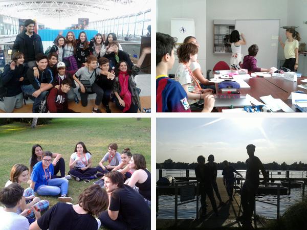 """Alumnos de primer y segundo año participan por primera vez en el campamento """"Berlin Young & Fun"""""""