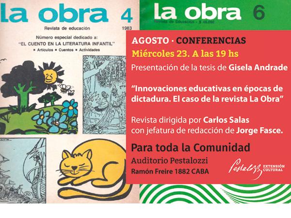 Innovaciones educativas en épocas de dictadura. El caso de la revista La Obra.