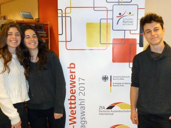 Concurso PASCH en ocasión de las elecciones parlamentarias alemanas 2017