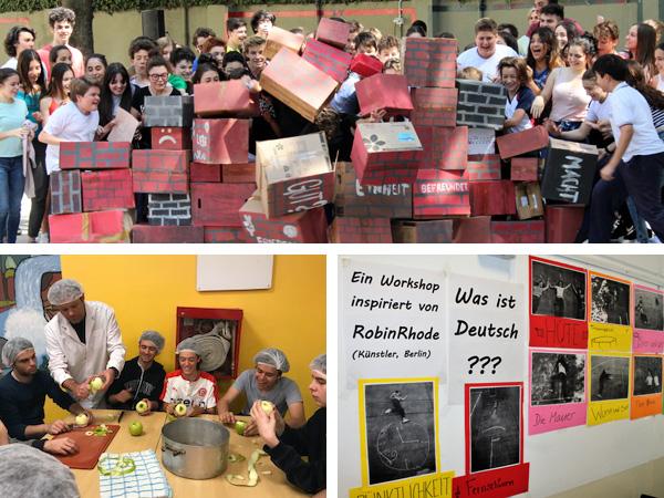 El Nivel Secundario celebró el Día de la Unidad Alemana con una jornada de proyectos
