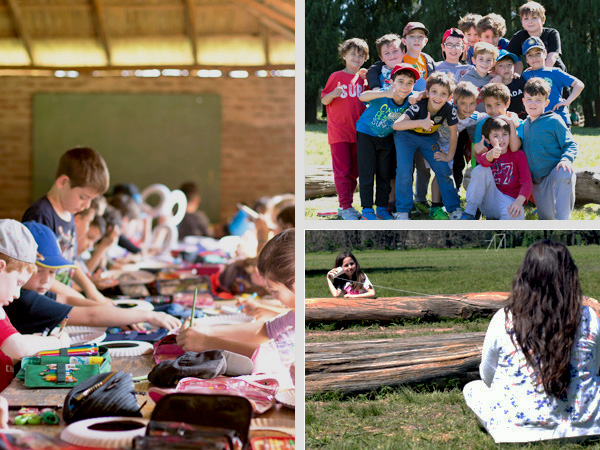 Campamento de segundo grado 2017
