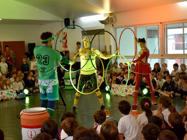 Obra teatral sobre los Juegos Olímpicos de la Juventud