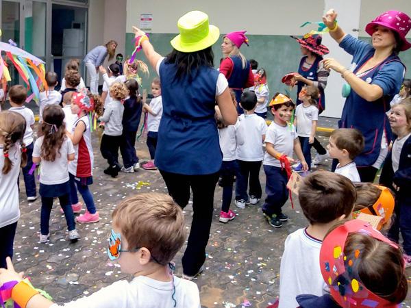 Carnaval en las salas de 4