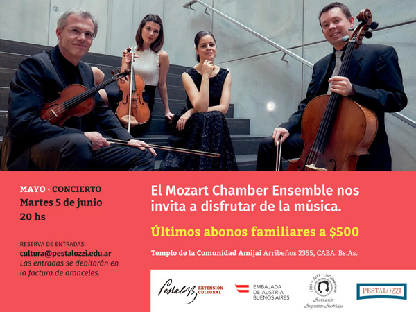Concierto del Mozart Chamber Ensemble