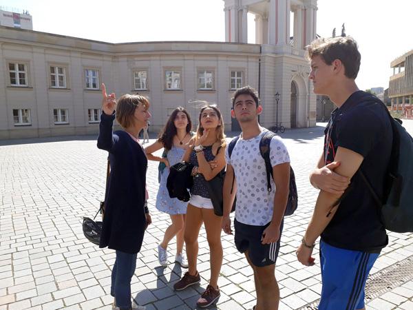Introducción a la vida universitaria en Potsdam