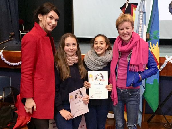 Concurso de lectura en alemán de segundo año