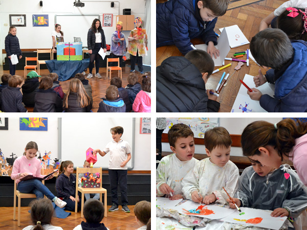 Proyecto de Arte de sexto grado para el Nivel Inicial