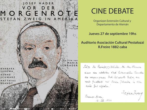 Ciclo de Arte y Cultura Pestalozzi - Cine debate alemán