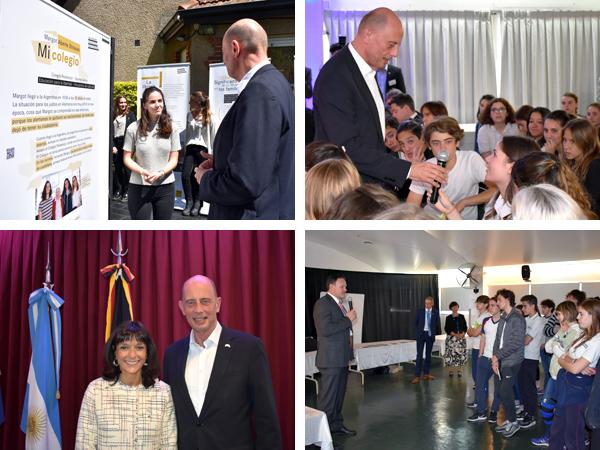 Visita del Ministro de Economía, Ciencia y Sociedad Digital de Thüringen Wolfgang Tiefensee