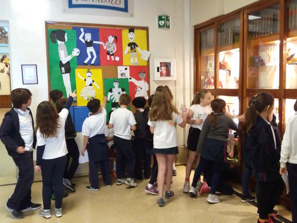 Exposición de Artes Plásticas de cuarto grado