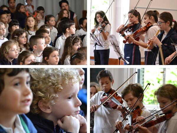 Concierto de la Escuela de Artes en el Nivel Inicial