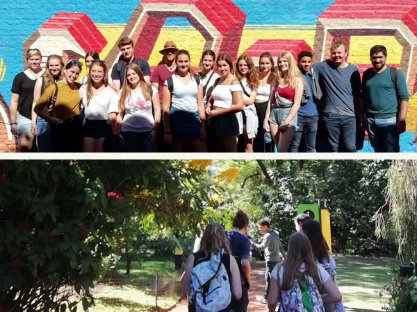 Los estudiantes de intercambio descubren Buenos Aires