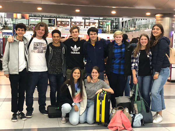 Despedida de los estudiantes neozelandeses de intercambio