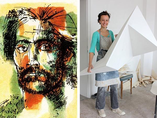 Muestras de arte: doble inauguración