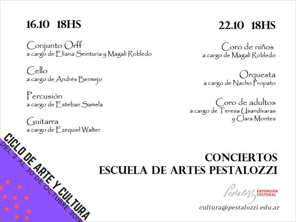 Conciertos de la Escuela de Artes