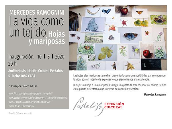 Inauguración de la muestra de Mercedes Ramognini