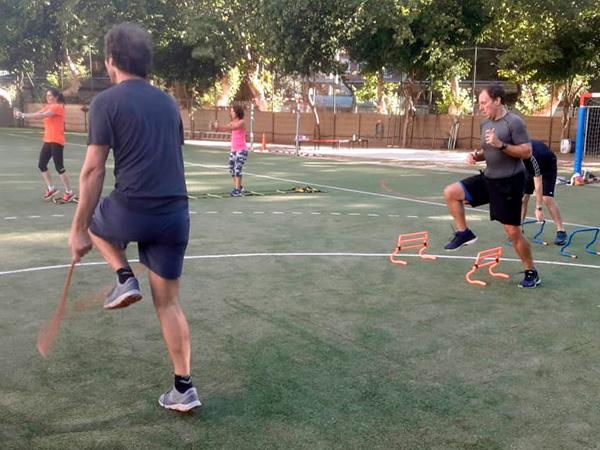 Inicio de la actividad deportiva para adultos