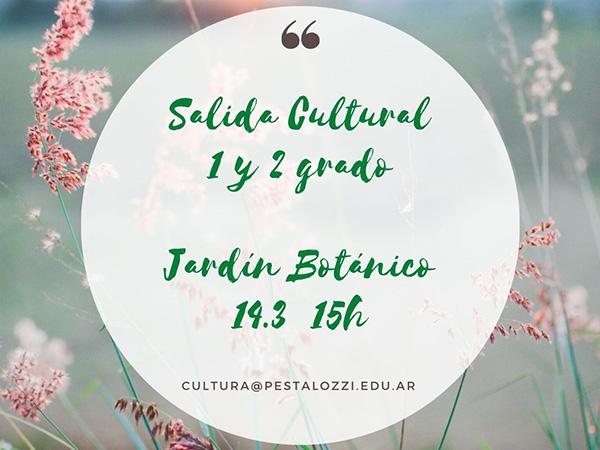 Salida cultural para familias de 1er y 2º grado