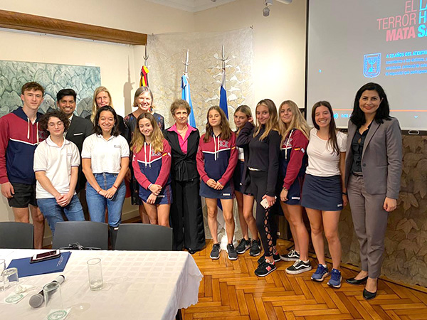 Visita de la Embajadora de Israel