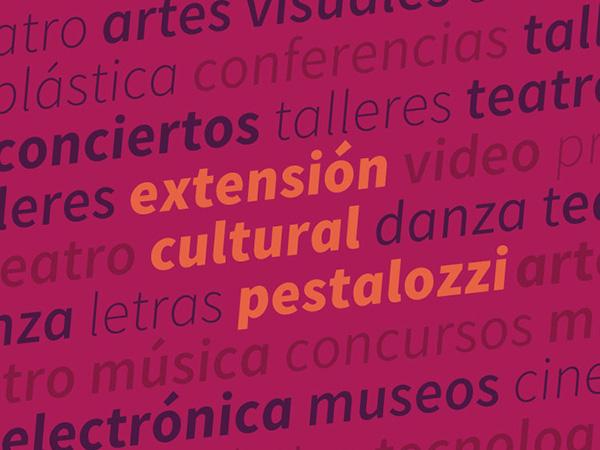 Agenda Cultural Pestalozzi - 1/5 al 8/5