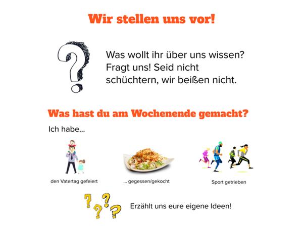 Encuentros de conversación en alemán
