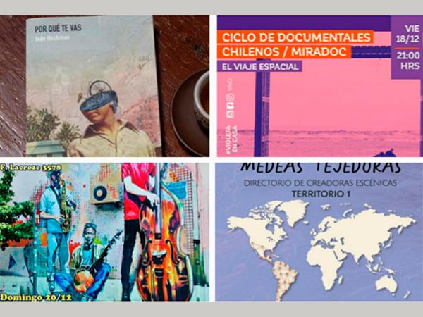 Agenda cultural del 18/12/2020
