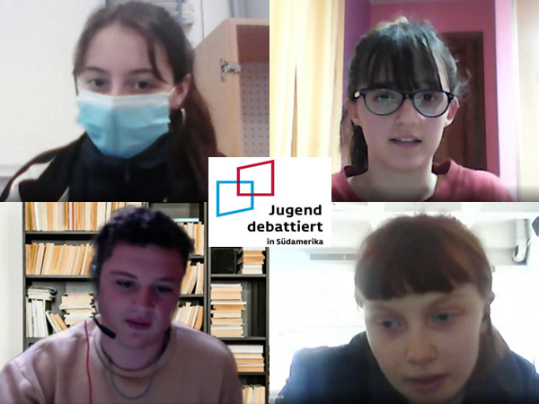 "Concurso de debate ""Jugend debattiert 2021"""