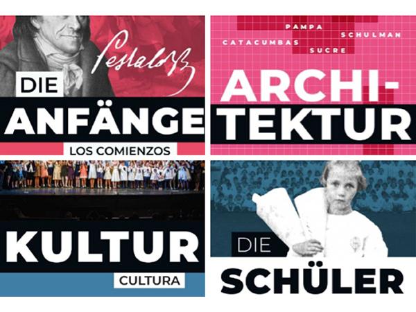 Agenda cultural: Identidad Pestalozzi | Zurück ins Kino | Botánica | Podcast | Semana de Arte