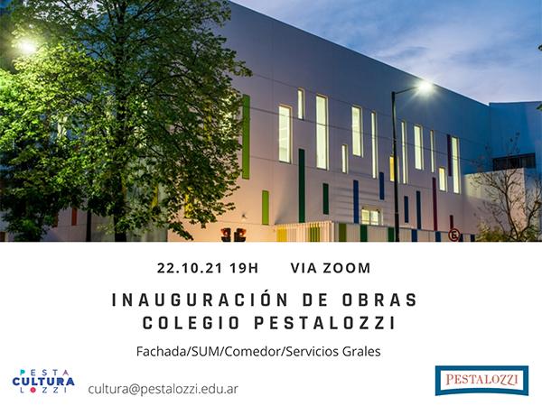 """Charla Pestalozzi. Proyecto """"Identidad Pestalozzi-Arquitectura"""""""